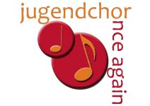 "Jugendchor ""once again"" - Logo"
